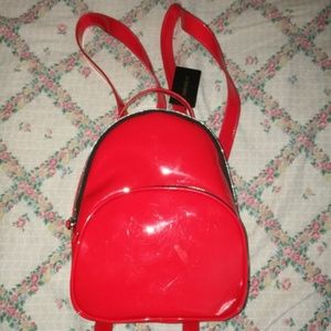 Cute Red Mini Backpack